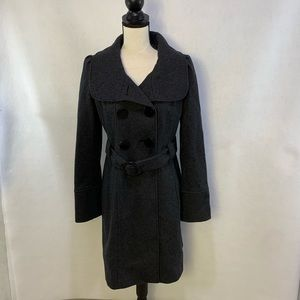 Guess wool double breasted trench coats